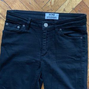 Acne Studios - FLEX black skinny jeans